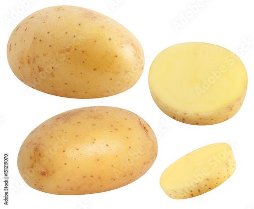 Fotografia Isolated potatoes