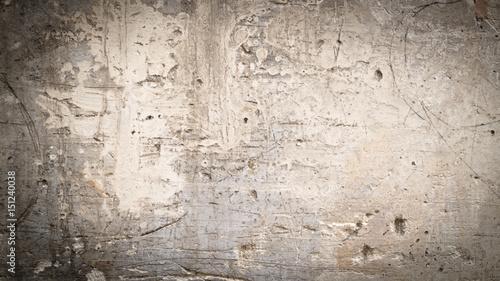 Foto auf AluDibond Alte schmutzig texturierte wand texture mur