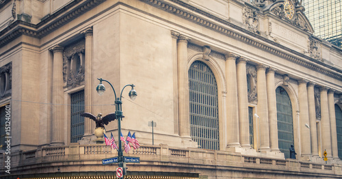 eagle grand central station Canvas Print