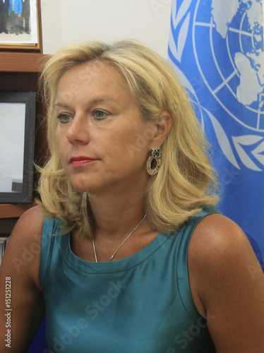 Sigrid Kaag Head Of The Joint Team Of Experts From The United