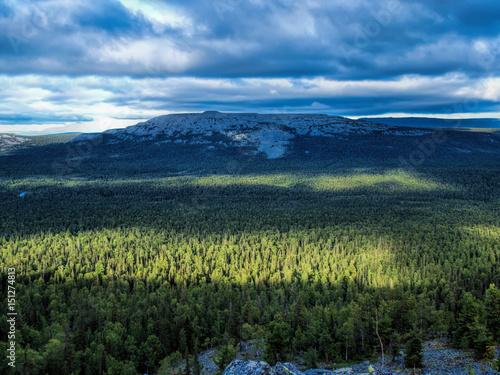 Photo Mount Fifth Thump. The Puttump Plateau. North Ural