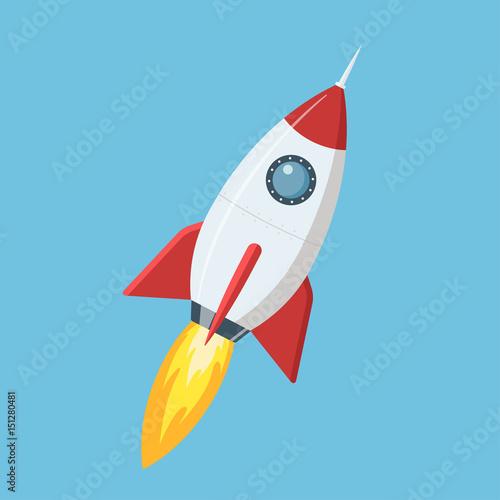 startujaca-rakieta-na-blekitnym-tle