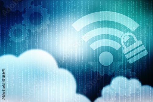 2d rendering Cloud computing, Cloud Computing Concept, 2d
