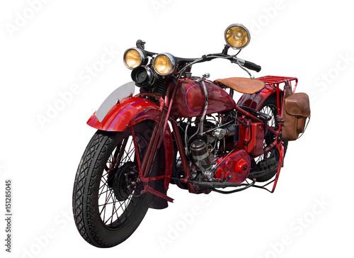 Zdjęcie XXL stary zabytkowy rower vintage 1920, vintage motocykl