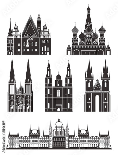 Architecture. Eastern Europe Poster