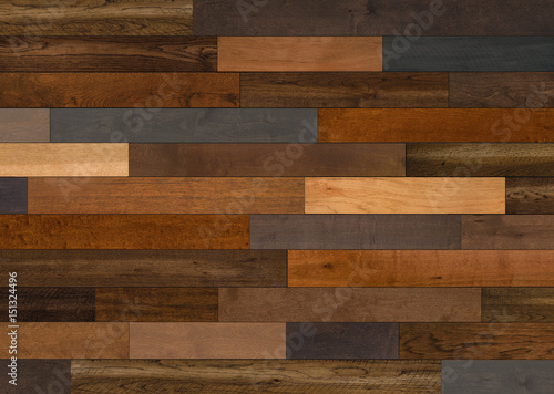 Photo Stands Wood Mixed Species Wood flooring pattern for background texture or interior design element