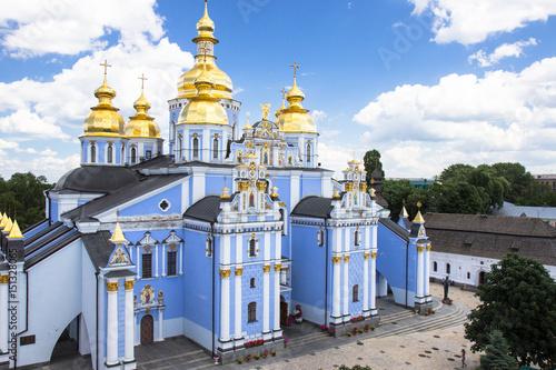 Foto op Plexiglas Kiev Saint Michael's Golden-Domed Cathedral in Kyiv