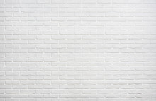 White Brick Wall Background Ph...