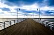 Pier in the winter - Jurata, Poland