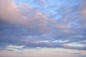 Fototapeta Lightly Colored Sky