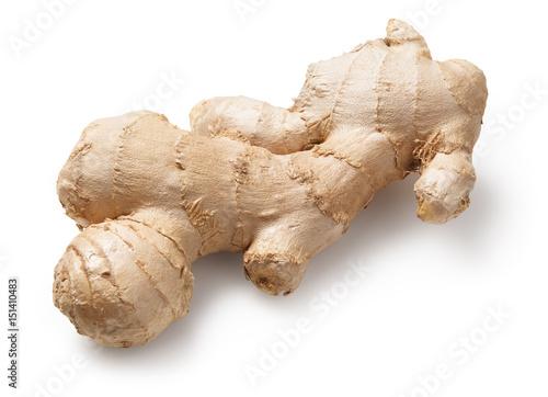 Fotografie, Obraz  ginger on white background