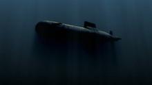 Submarine Underwater With Bobm...