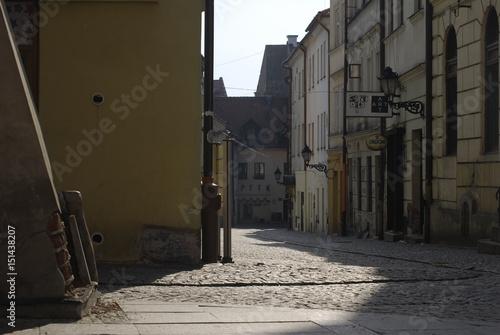 Fototapeta Tarnow, ul.Zydowska.