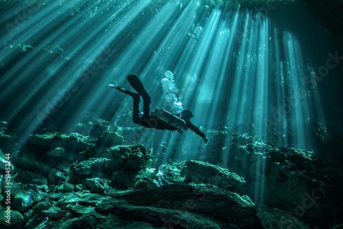 Fototapeta Mexican cenotes obraz
