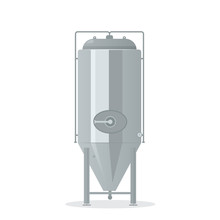 Cartoon Brewery Tank