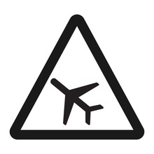 Low Flying Aircraft Sign Line ...