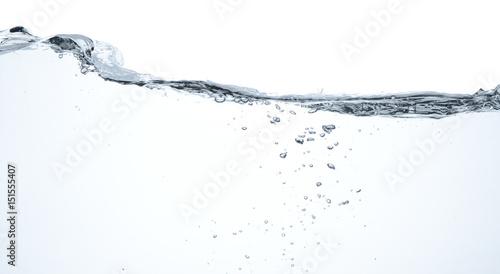 Valokuvatapetti Agua en movimiento y burbujas