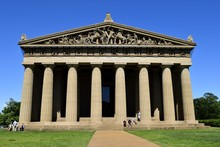 Replica Of The Parthenon At Ce...