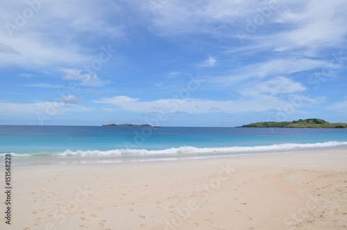 Poster Zee / Oceaan Beach Paradise in Philippines