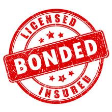 Red Business Stamp Licensed Bo...