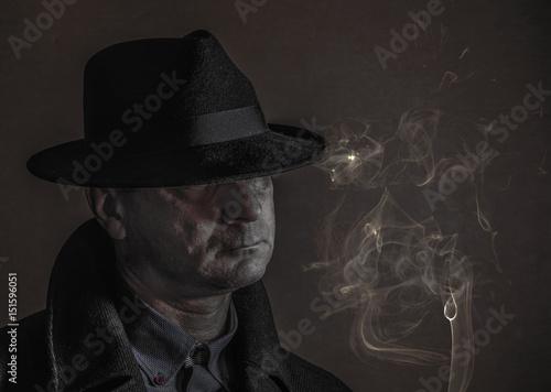 Fototapety, obrazy: Smoking Joe