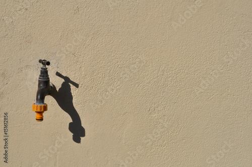 Fotografie, Obraz  Gaspillage de l'eau