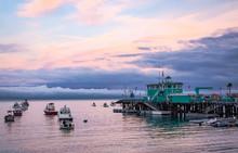 Tranquil Avalon Harbor At Suns...