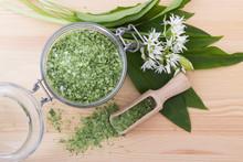 Herbal Salt And Wild Garlic / ...