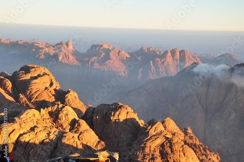 Photo  Sunrise on Mt. Sinai