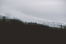 Fog In The Mountains Of Tatra