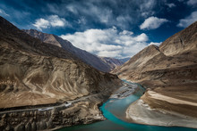 Confluence Of Indus And Zanska...