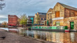 canvas print picture - Nottingham Canal