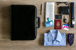 assorted business items for travel.