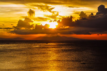 Sunset Over Manila Bay - Philippines