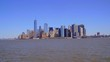 Skyline of Manhattan New York - view from Hudson River
