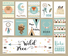 Cute Cards For Banners,Flyers,...