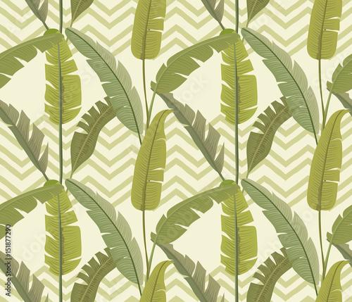 liscie-bananowca-tropikalny-druk-egzotyczny-wzor-zygzakowaty-tlo-tapeta-wektor
