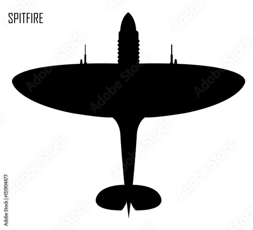 Fotografie, Tablou World War II - Supermarine Spitfire