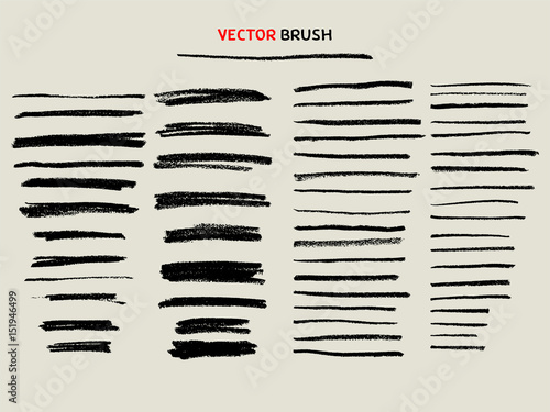Carta da parati dry chalk texture brush set