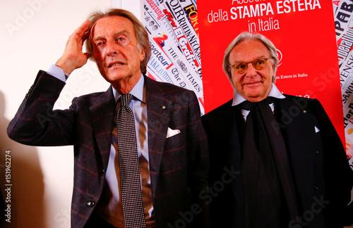 outlet store fabce 58856 Alitalia's President Luca Cordero di Montezemolo and AD of ...