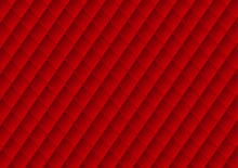 Luxury Red Upholstery Texture Vector Abstract Background