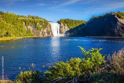 Ogromny wodospad Montmorency
