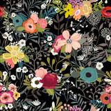 Vintage Floral Seamless Pattern - 151988424
