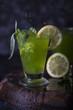 Lemonade from lemon and tarragon