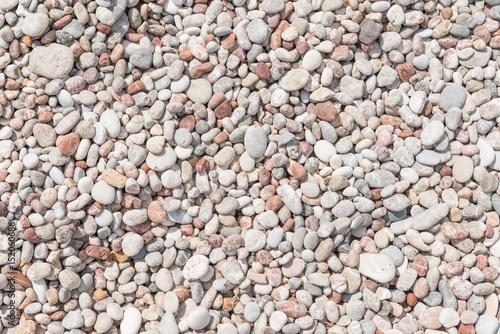 Obraz na plátne Smooth pebbles and stones