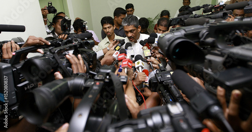 Sri Lanka S Losing Candidate Former Army Chief General Fonseka