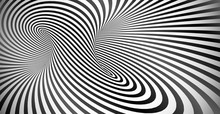 Vector Optical Illusion Black ...