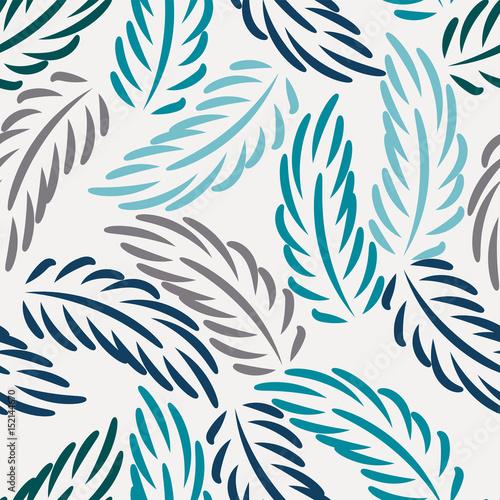 abstrakcyjne-gryzmoly-tlo-w-niebieskie-liscie-podobne-do-pior