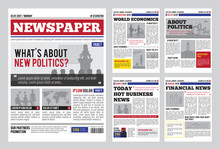 Newspaper Design Template