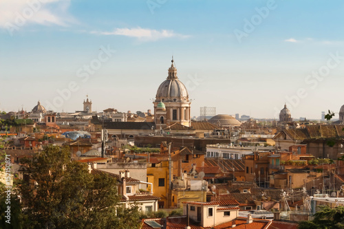 Poster Rome The panoramic cityscape of Rome, Italy